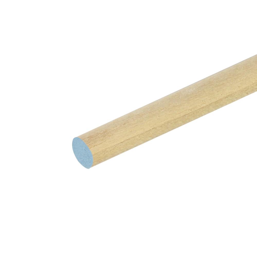 Moldura de madera redonda 1/4x48 pulg