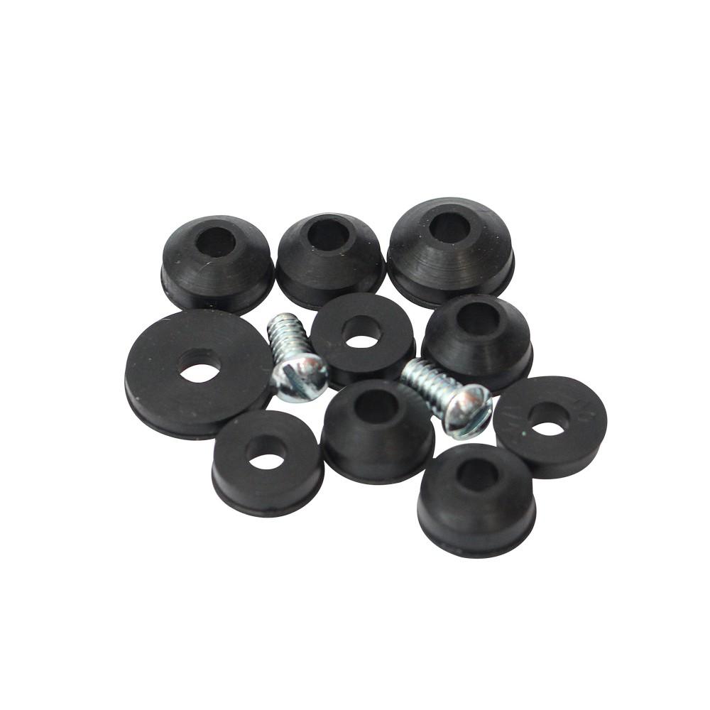 Empaque para chorro jgo 10 pzs accesorios para lavamano for Empaques de llaves de regadera