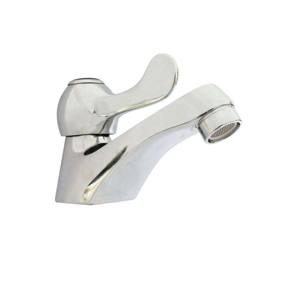 Llave para lavamanos met lica de palanca llaves para for Llaves de lavamanos