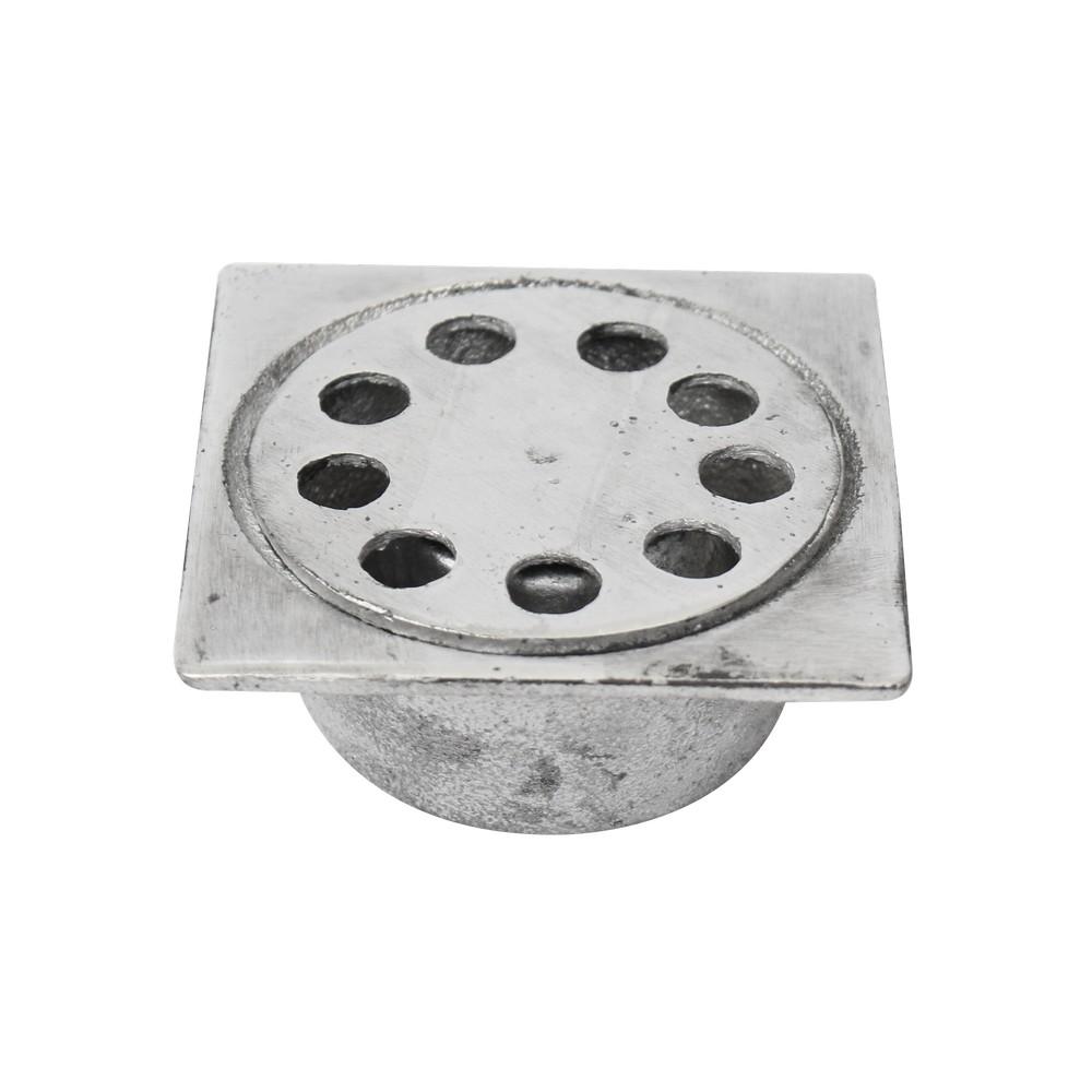 Resumidero para baño aluminio 7.6x7.6mm