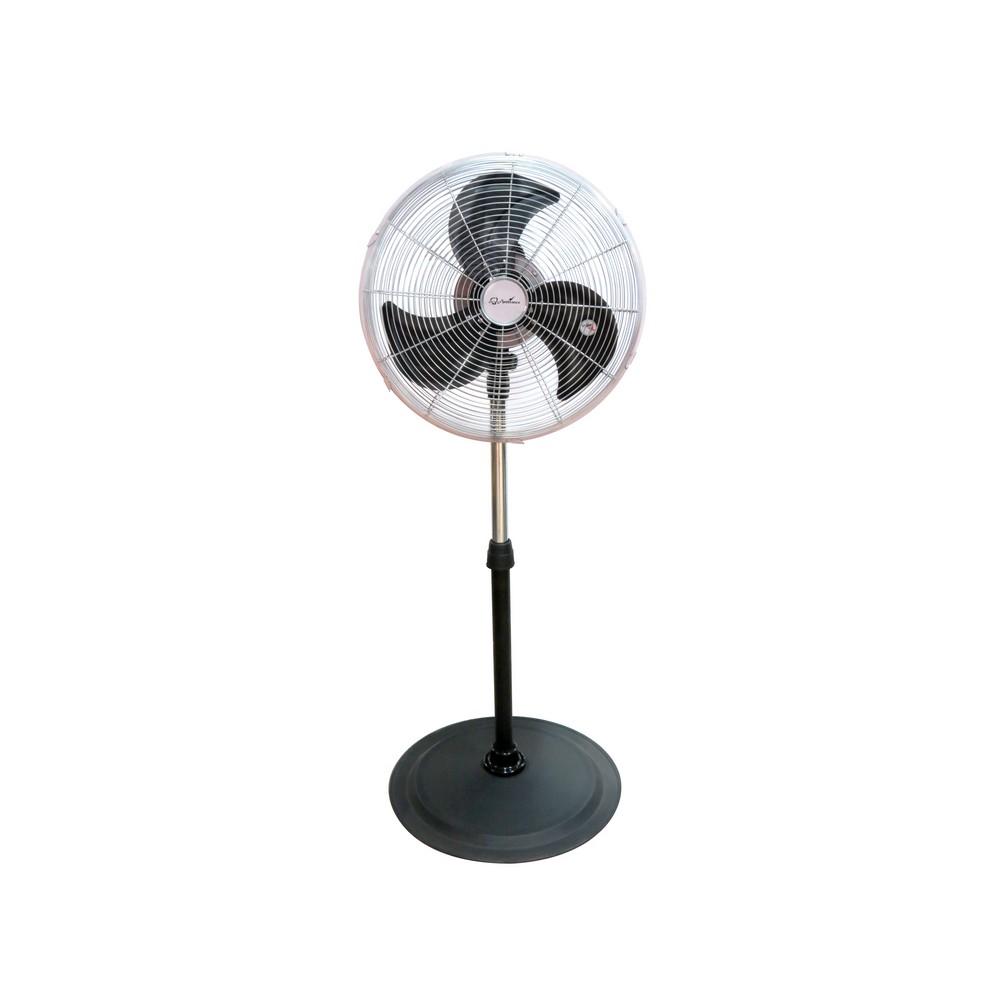 Ventilador de pedestal de 18 pulgadas metálico