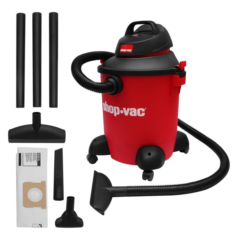 Aspiradora de uso doméstico 10 gal 5 hp