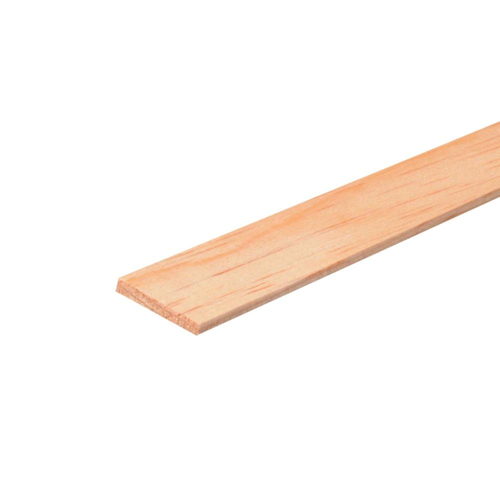 Moldura de madera 9/32 x 1.3/8 pulg x 8 pies