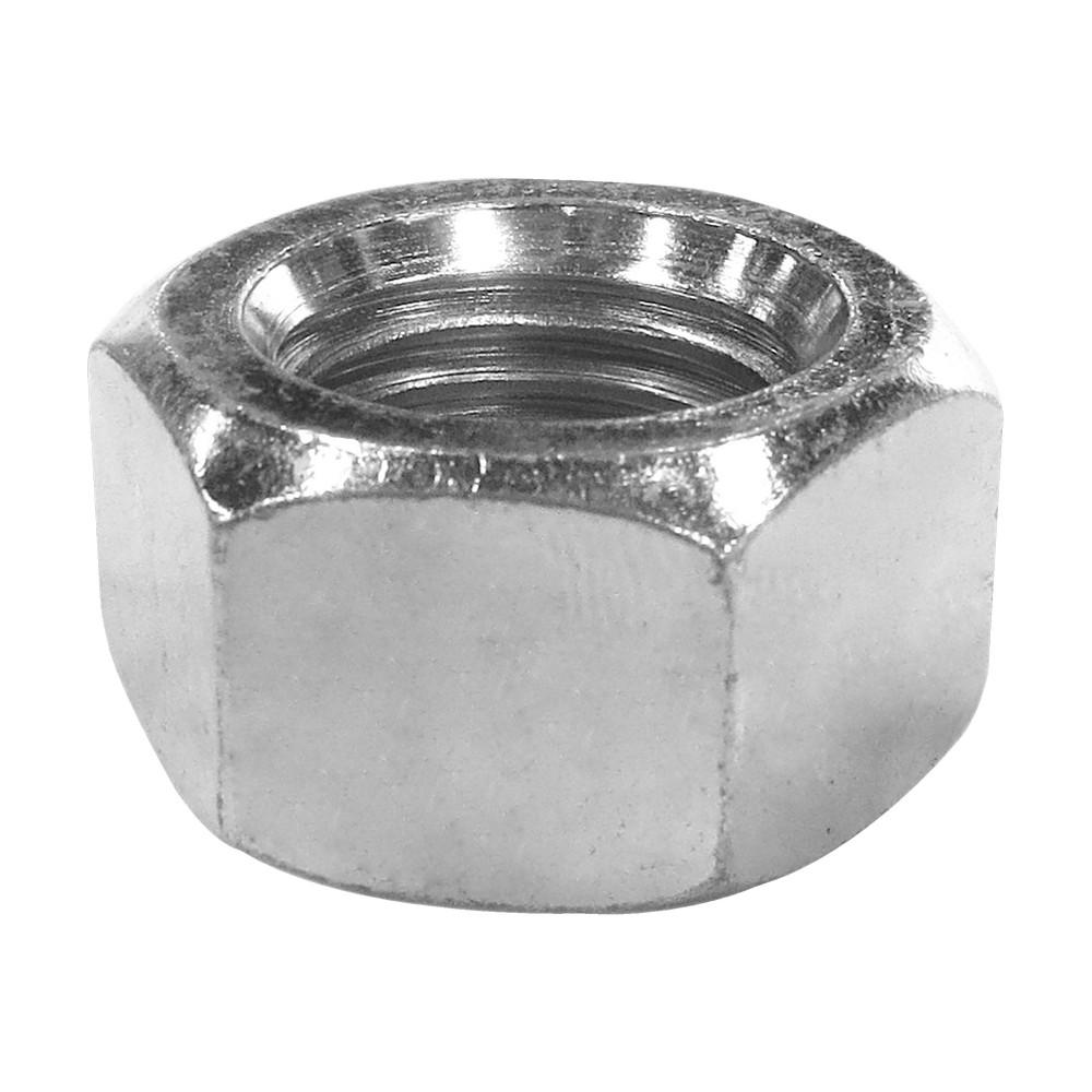 Tuerca hexagonal rosca ordinaria zincada 5/16 pulg