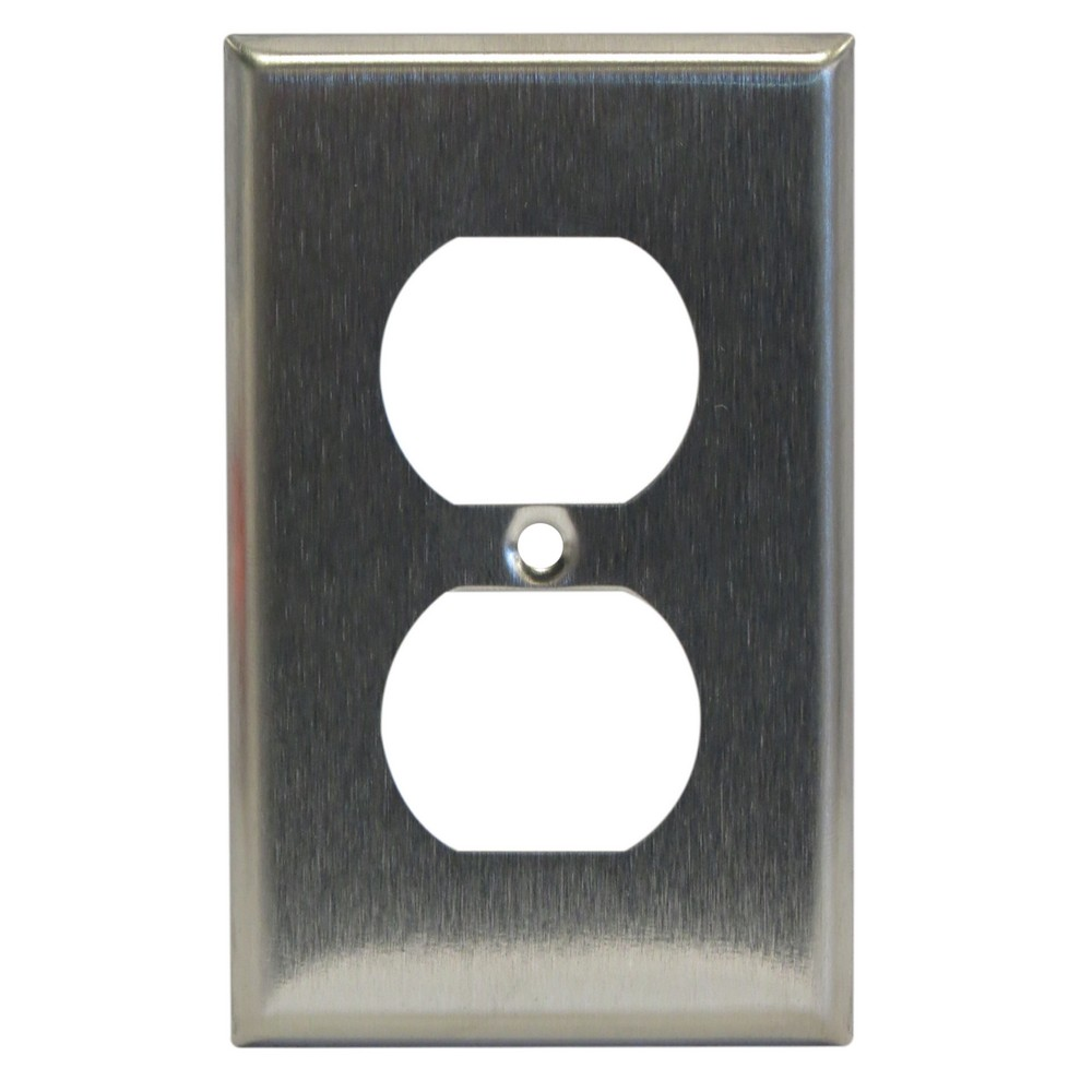 Placa doble de metal