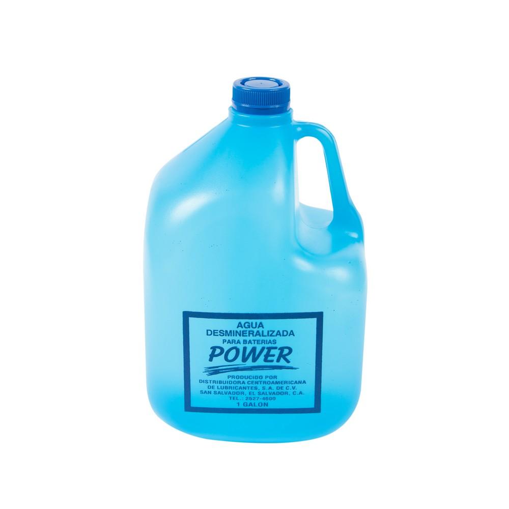 Agua desmineralizada de 1 galón