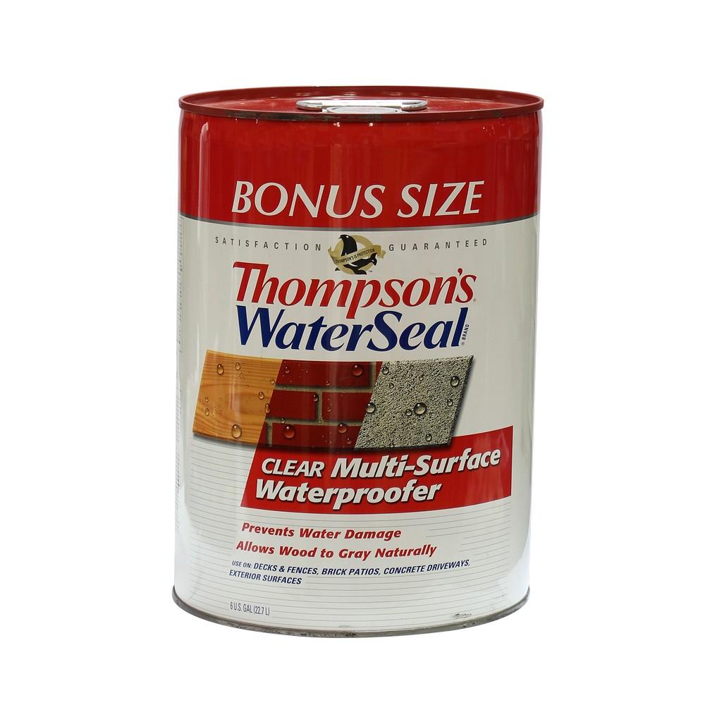 Sellador de agua thompson's cub