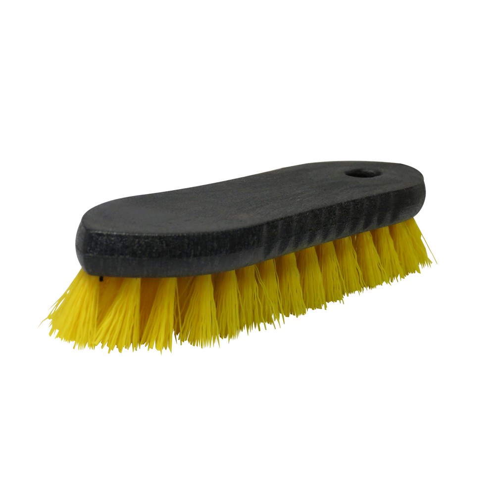 Cepillo plastico para cocina amarillo