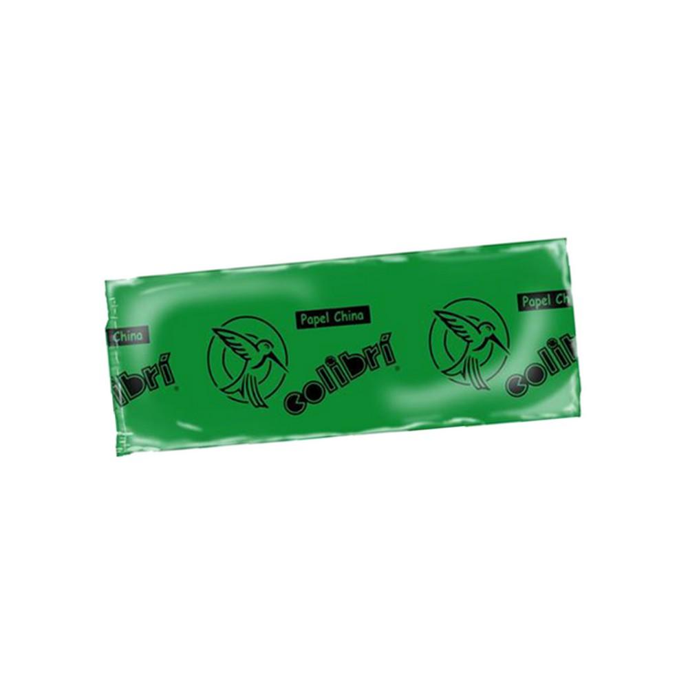 Papel china verde bandera
