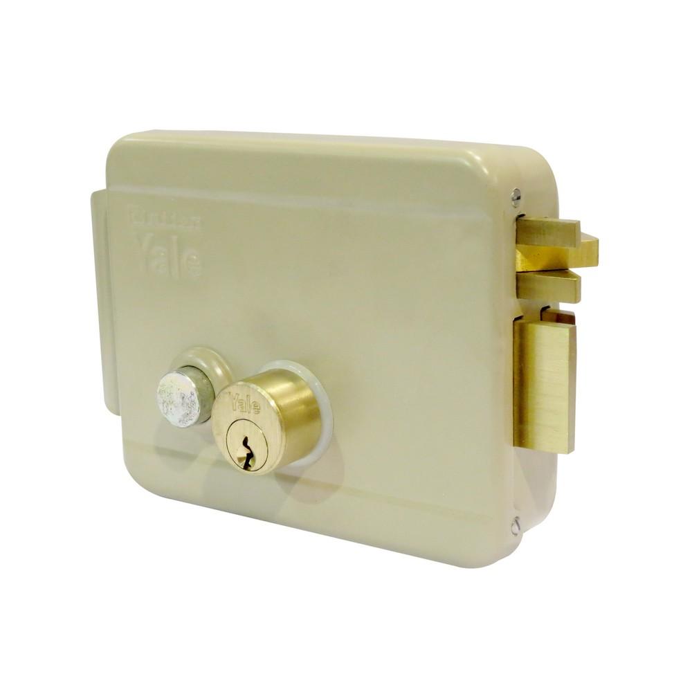 Cerradura de sobreponer eléctrica derecha
