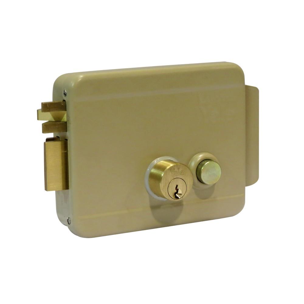 Cerradura de sobreponer eléctrica izquierda