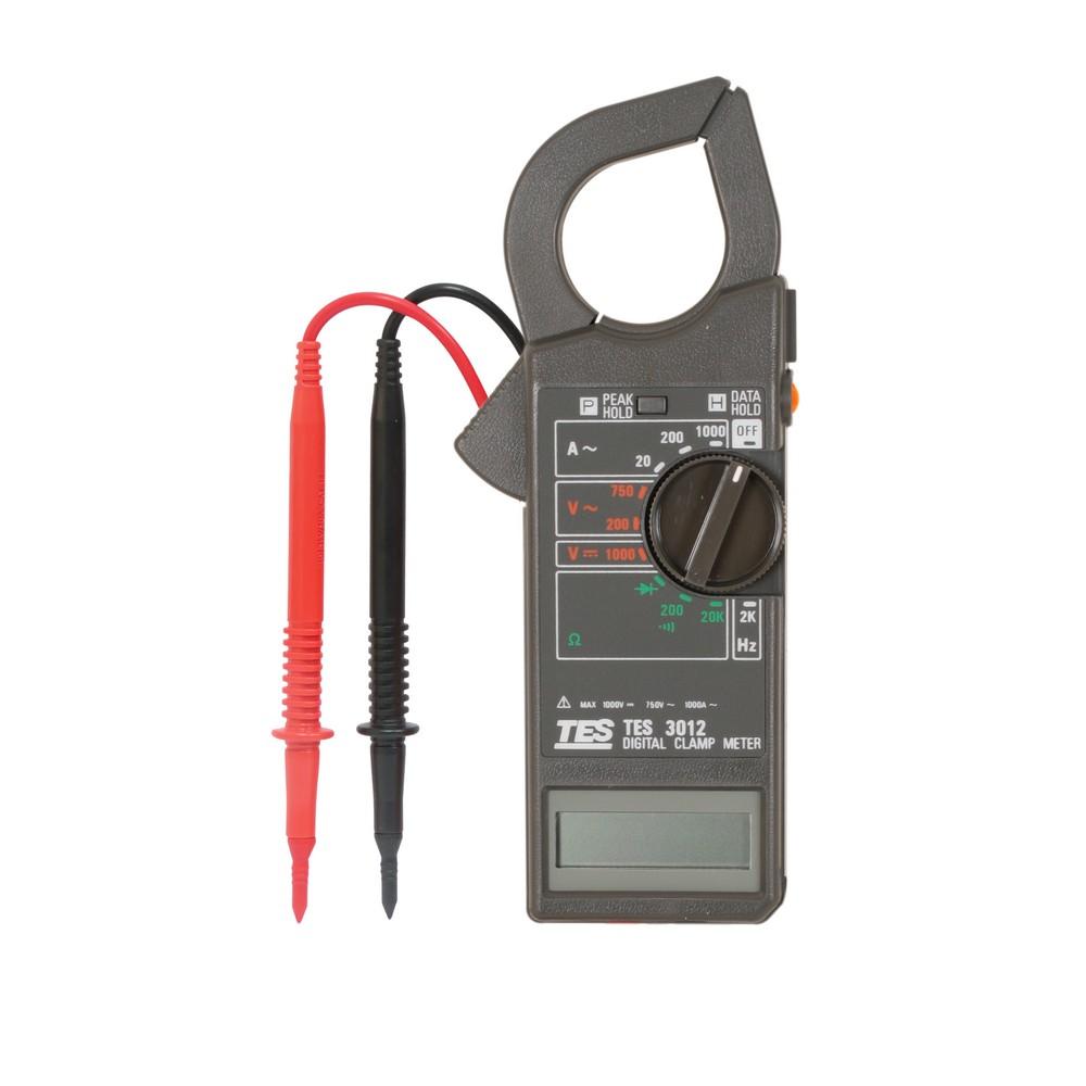 Amperímetro digital de 1000 amperios