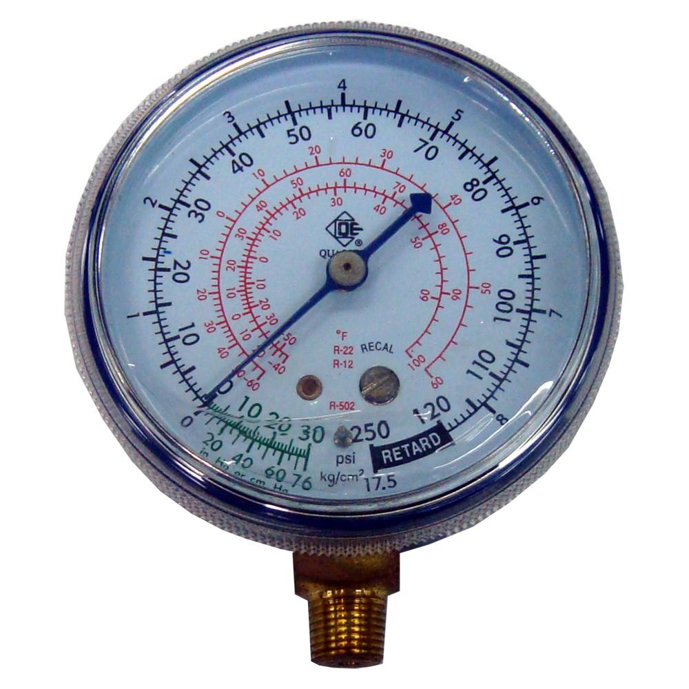 Manometro 30 a 250 psi baja presion qg 230v manometros for Manometro para medir presion de agua