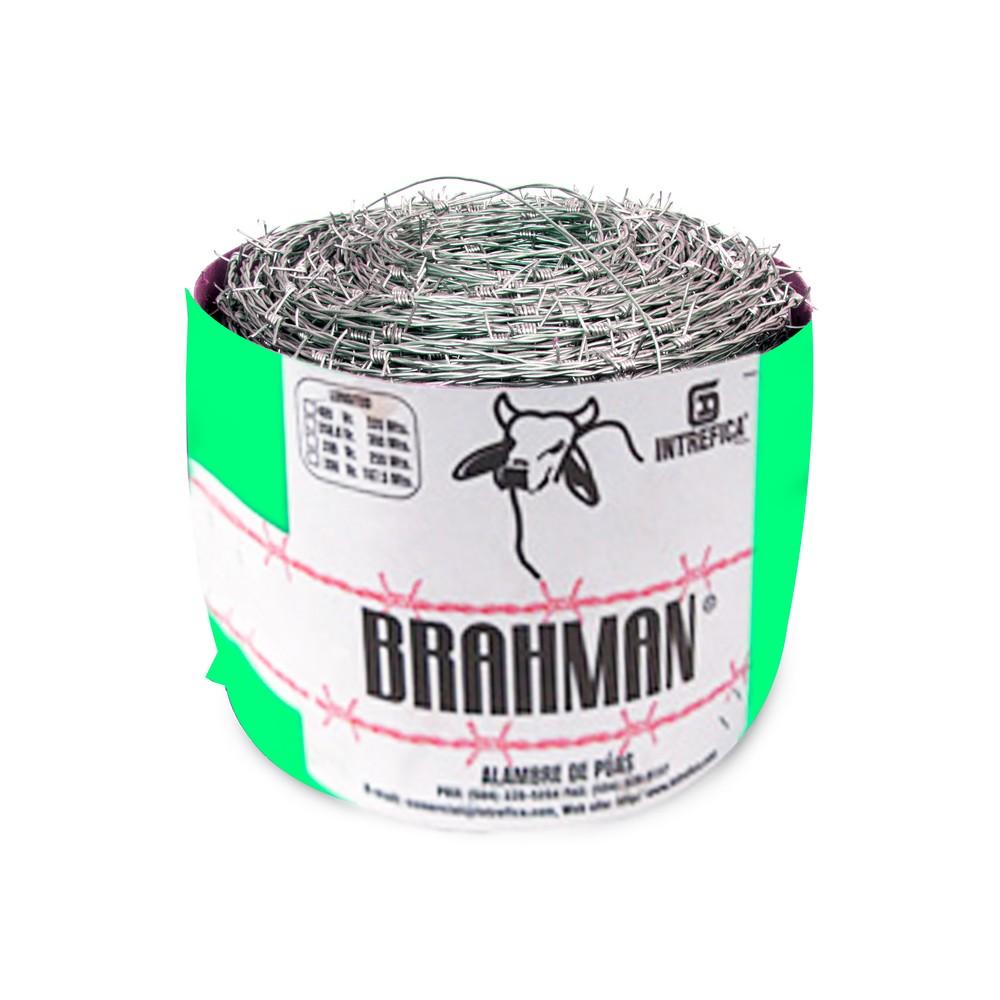 Alambre espigado galvanizado brahman 400 varas