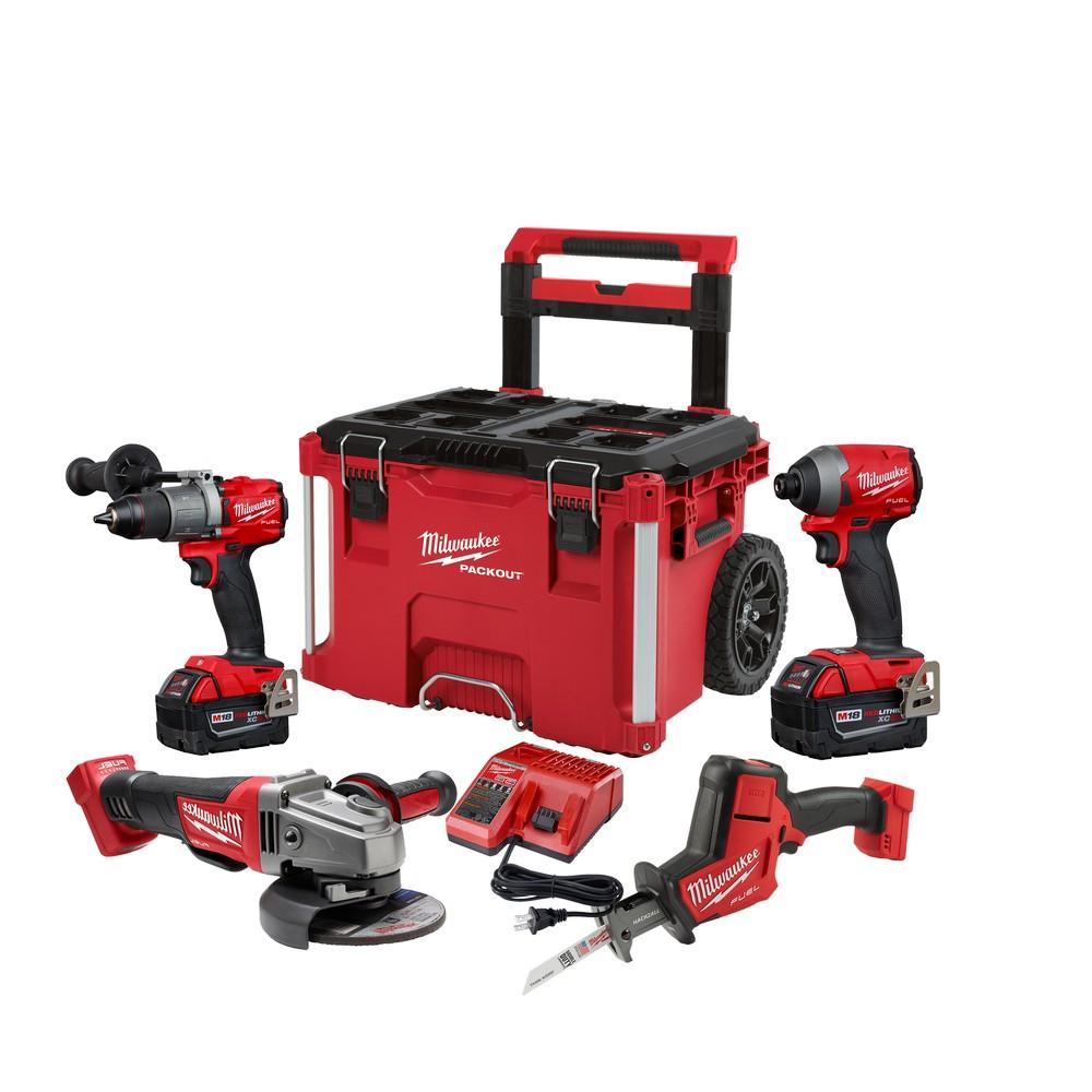 Kit de herramientas inalámbricas 18v fuel 2997-24po 5 piezas