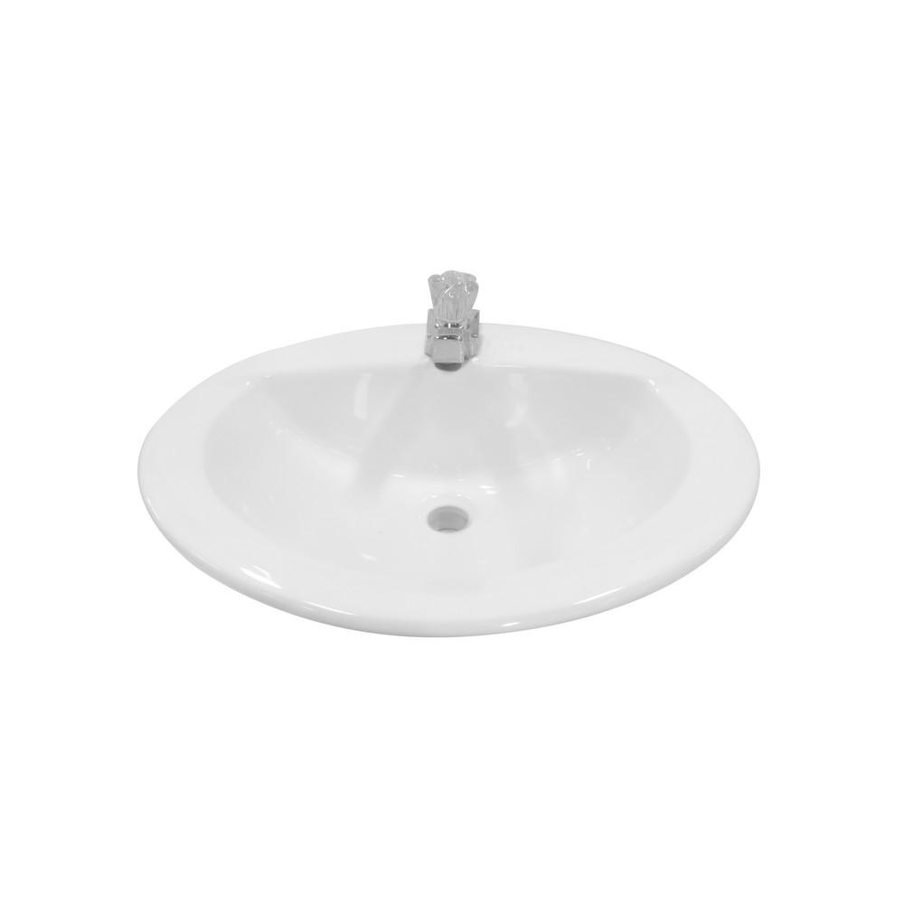 Lavamanos blanco sin accesorios lavamanos de empotrar - Lavamanos sin instalacion ...