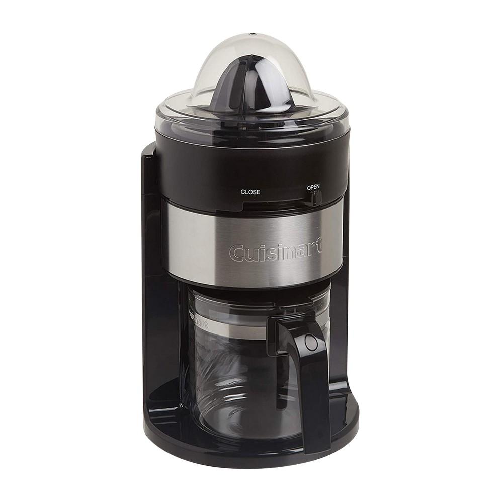 Extractor de jugo 24oz negro con plateado