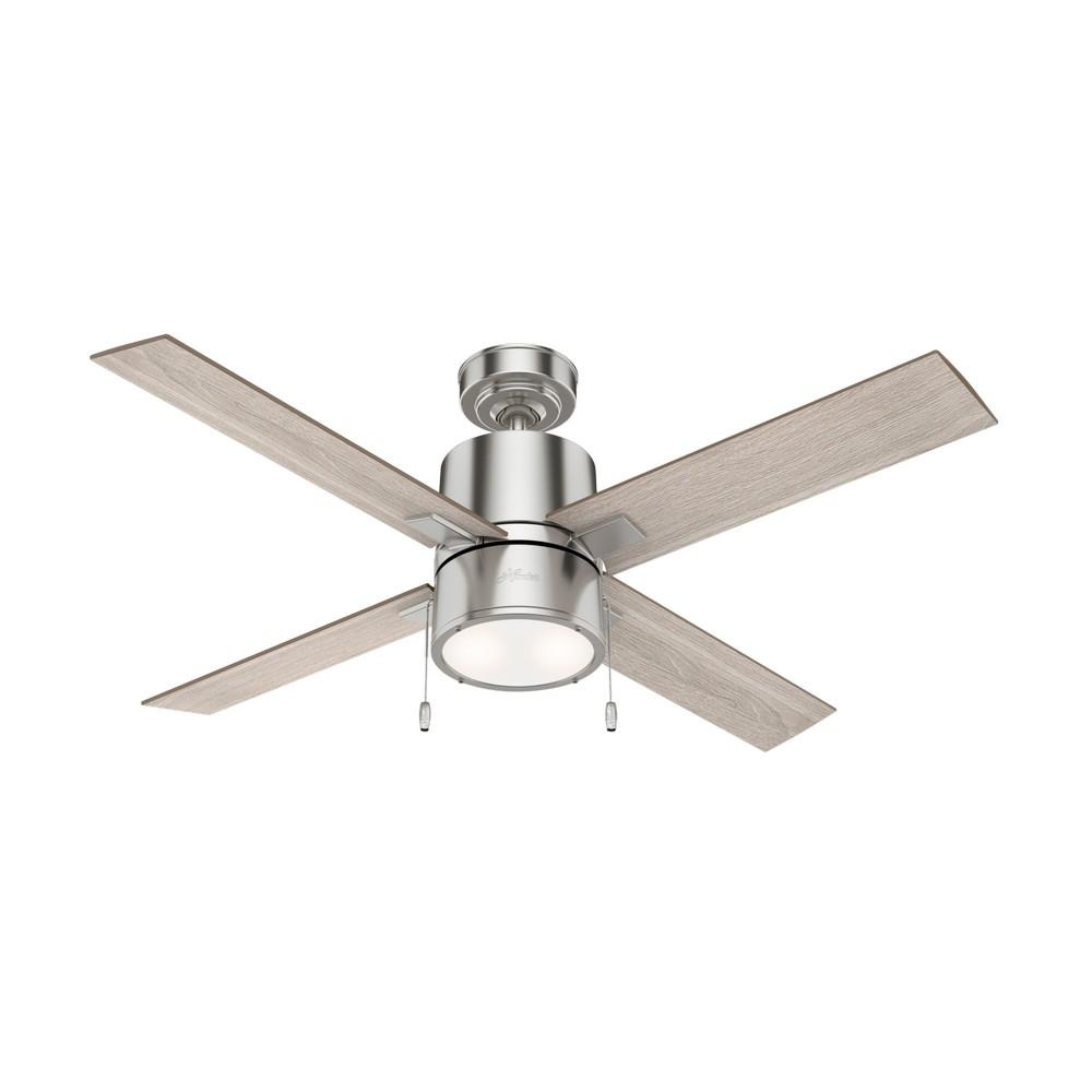 Ventilador de techo de 52 pulg 4 aspas beck nickel