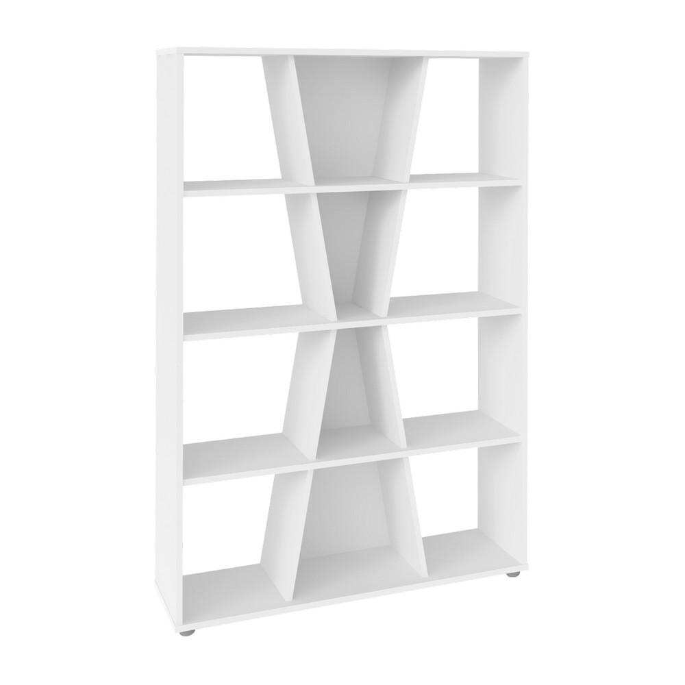 Mueble organizador 91x25x134.5cm blanco xis