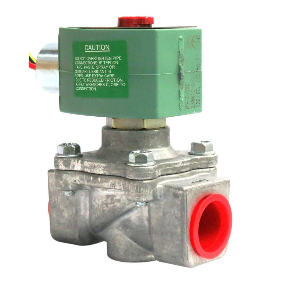 Válvula solenoide 3/4 pulg 120v gas