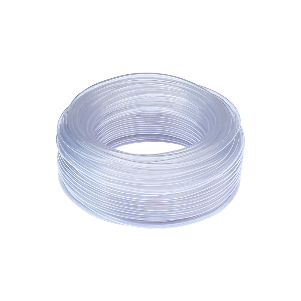 Manguera plástica transparente 1/2 pulg