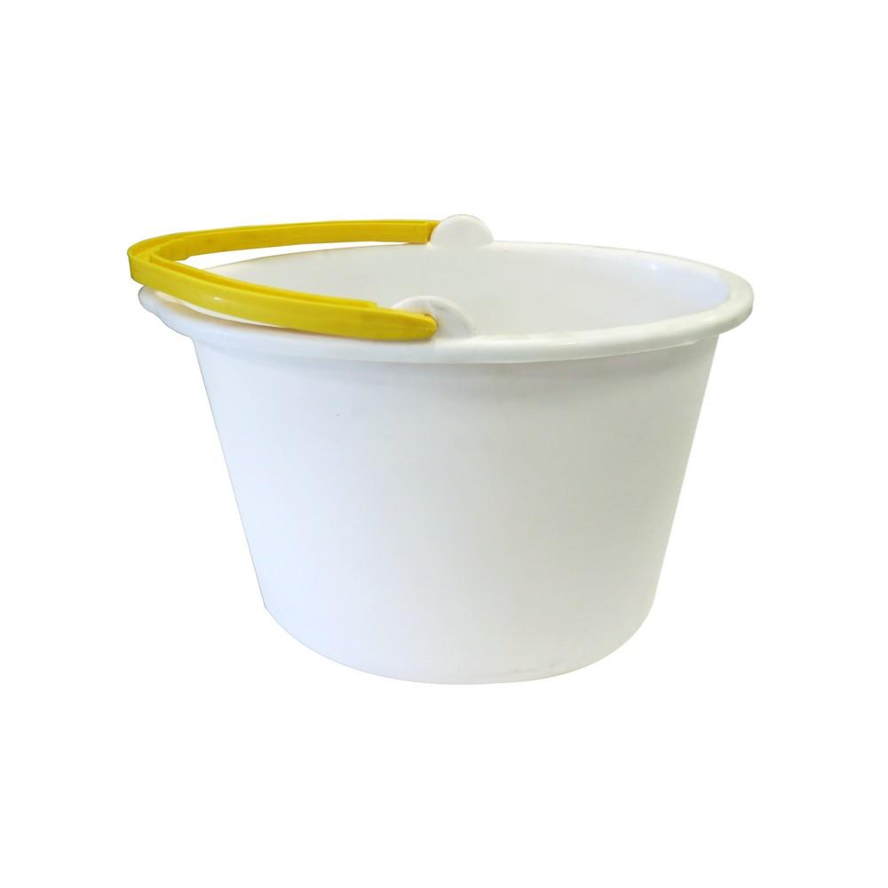 Balde plastico 11lt blanco