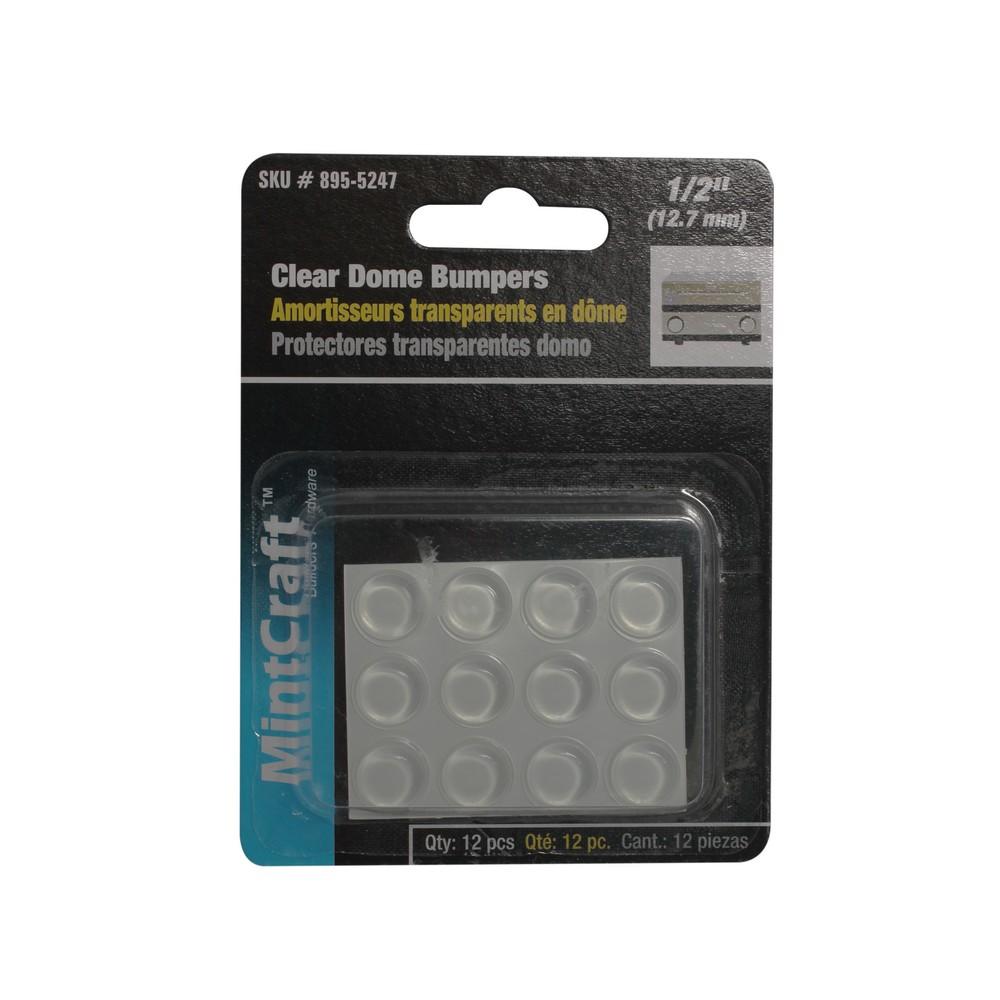 Protector parachoques adhesivo 1/2 pulg set 12 pzas