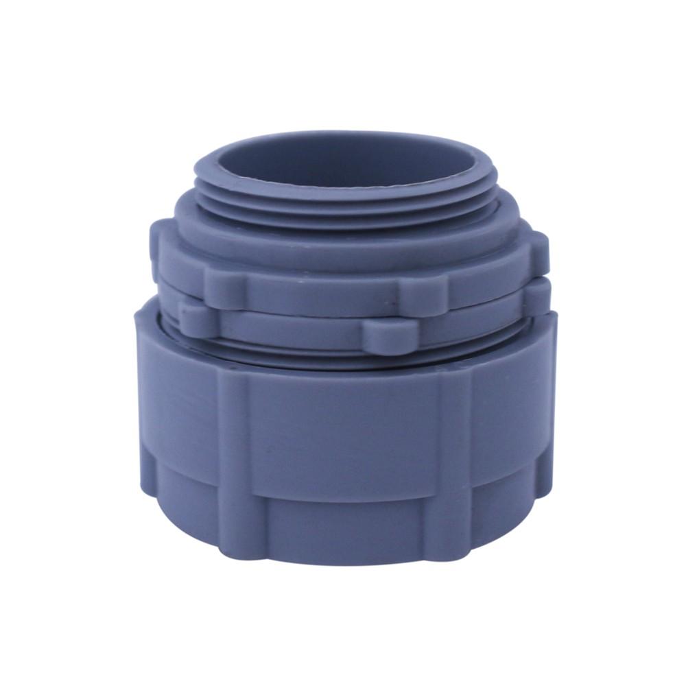 Conector para tubo conduit flexible de 1 pulgada - Tubo pvc electrico ...