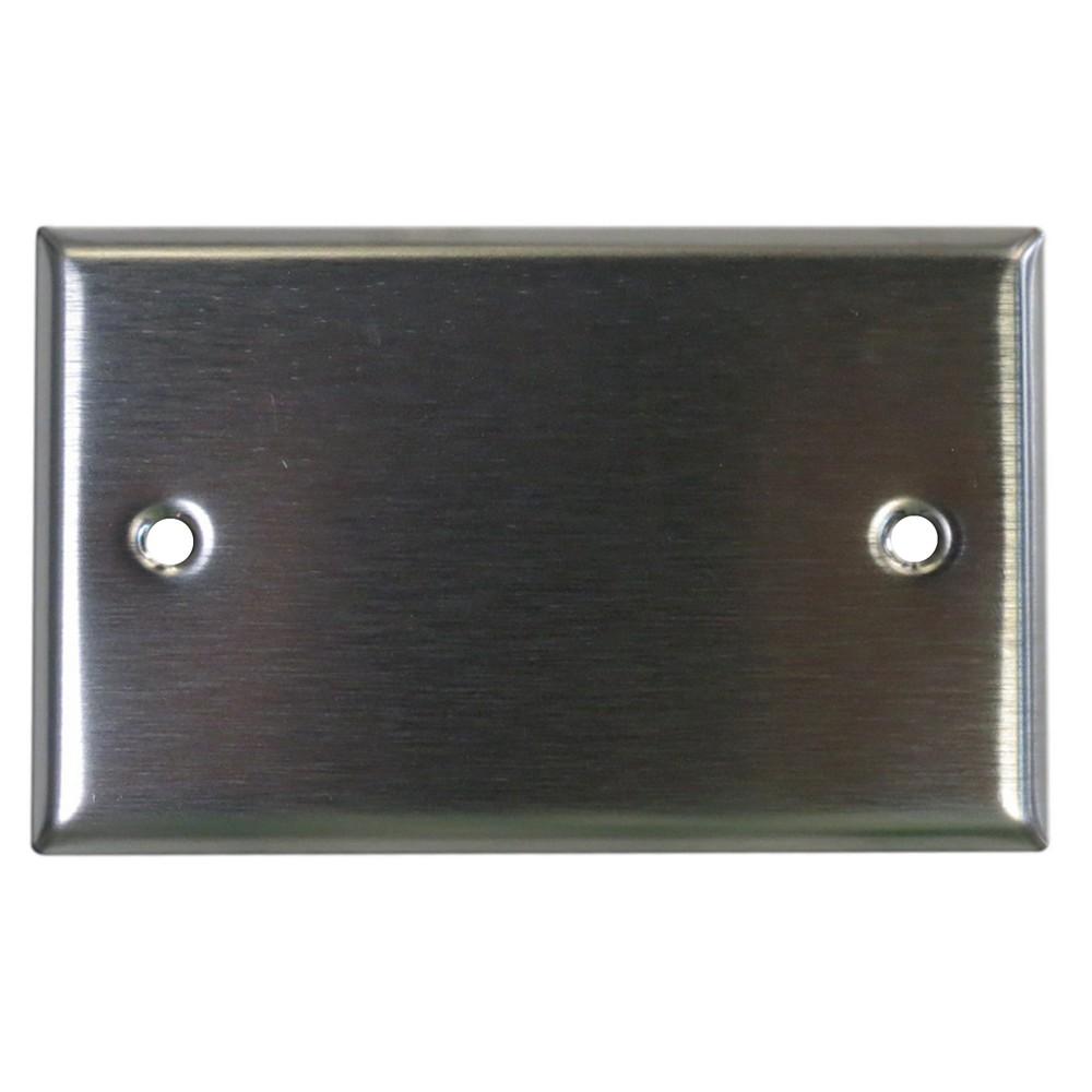 Placa ciega de acero inoxidable placas ciegas aguila - Placa de acero inoxidable ...