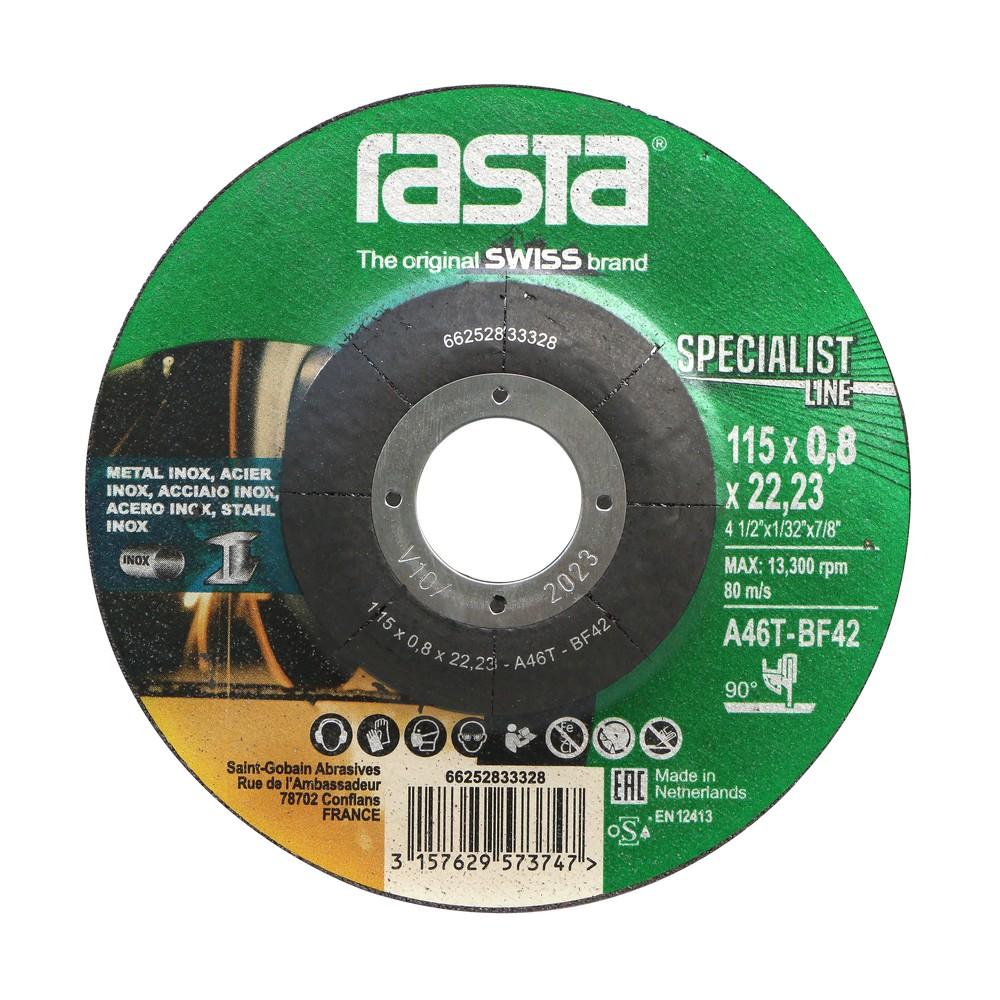 Disco de corte para acero inoxidable 4.1/2 x 1/32 x 7/8 pulg