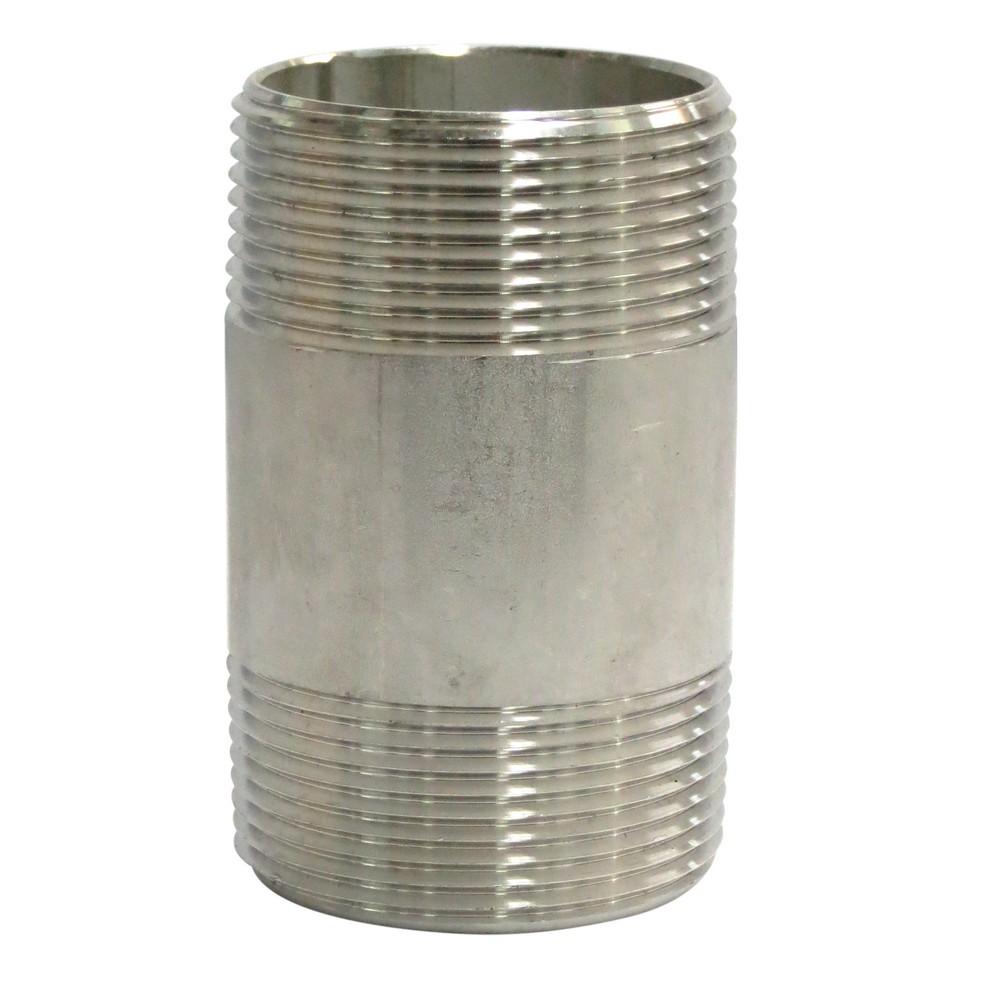 Niple acero inoxidable 1.1/2x3 pulg