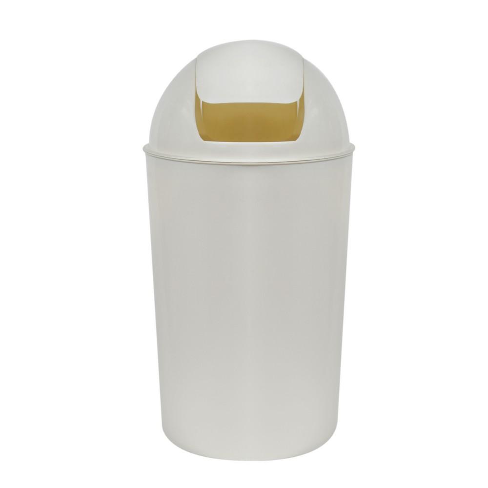 Basurero plastico tapa balancin guateplast 30 l