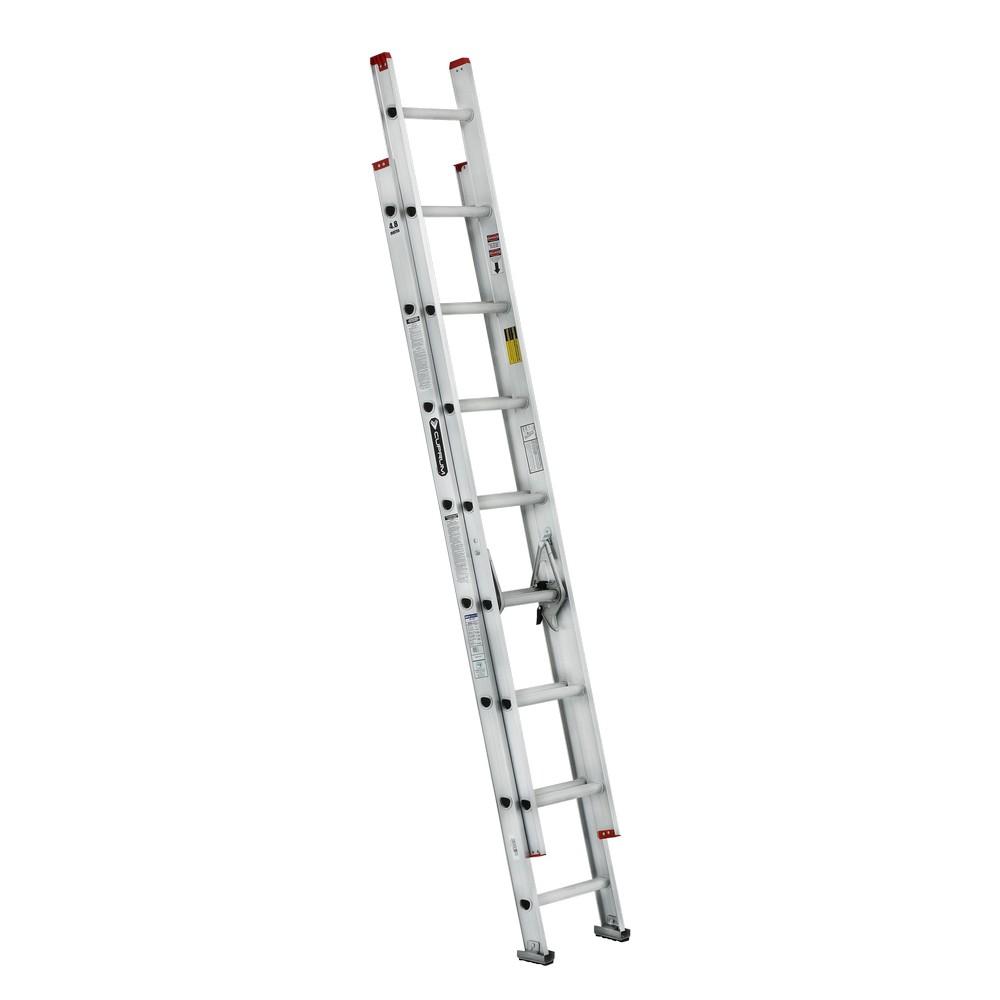 Escalera aluminio de extension tipo iii 16 pies