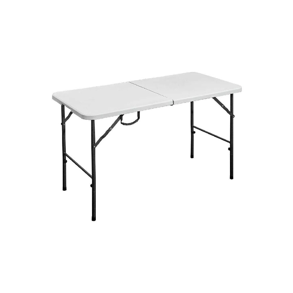 Mesa Pl Stica Plegable De 4 Pies De Largo