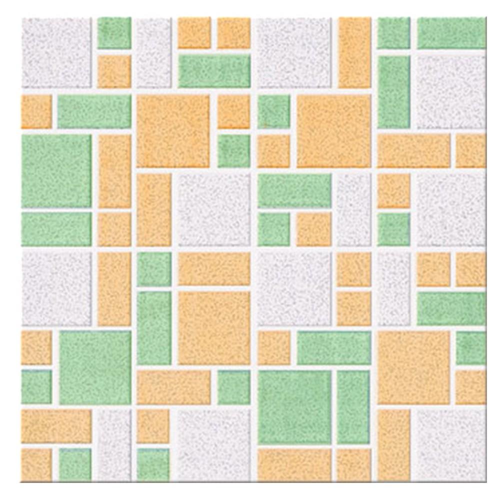 Cer Mica De Piso Antideslizante De 33×33 Cent Metros Mosaico Verde  ~ Como Limpiar Suelo Antideslizante