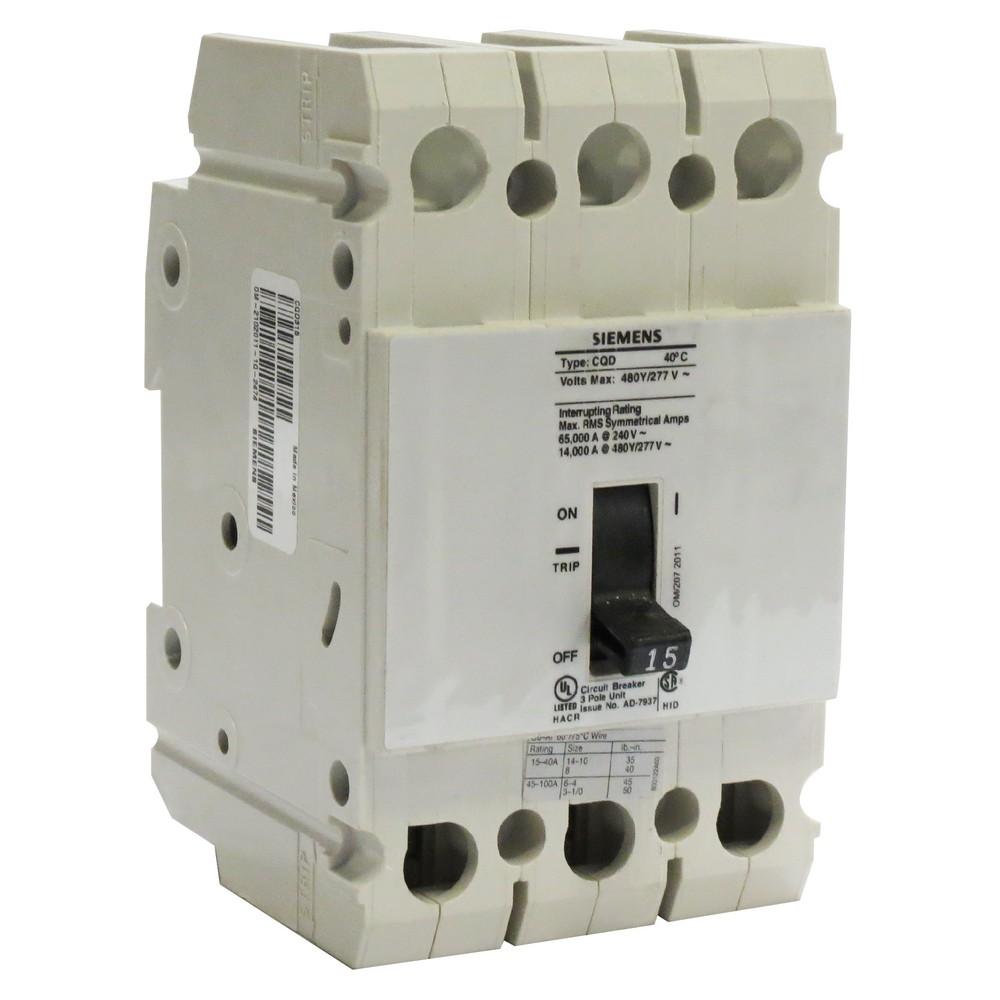 Interruptor termomagnetico 15a 3 polos 480vac us2:cqd315