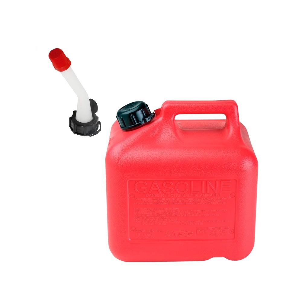 Depósito de 2 galones para gasolina