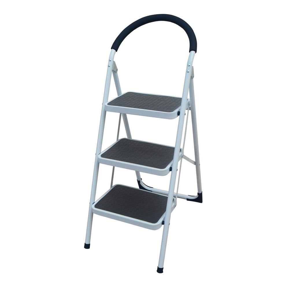 Escalera de 3 pelda os escaleras metalicas de plegar for Escalera rolser 3 peldanos