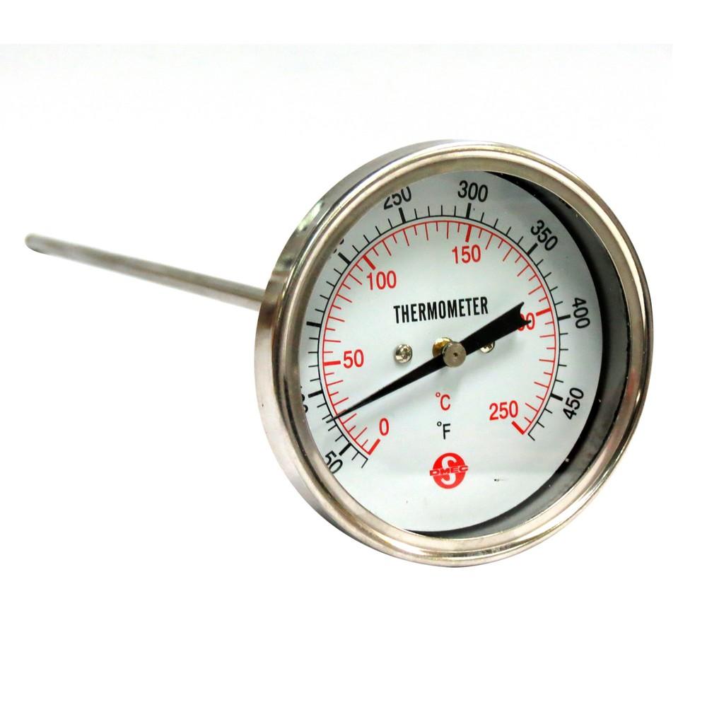 Termómetro 12 pulg 0-250 grados c