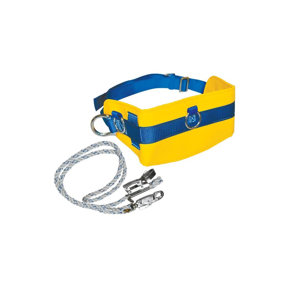 Cinturón con cuerda para trabajo en alturas