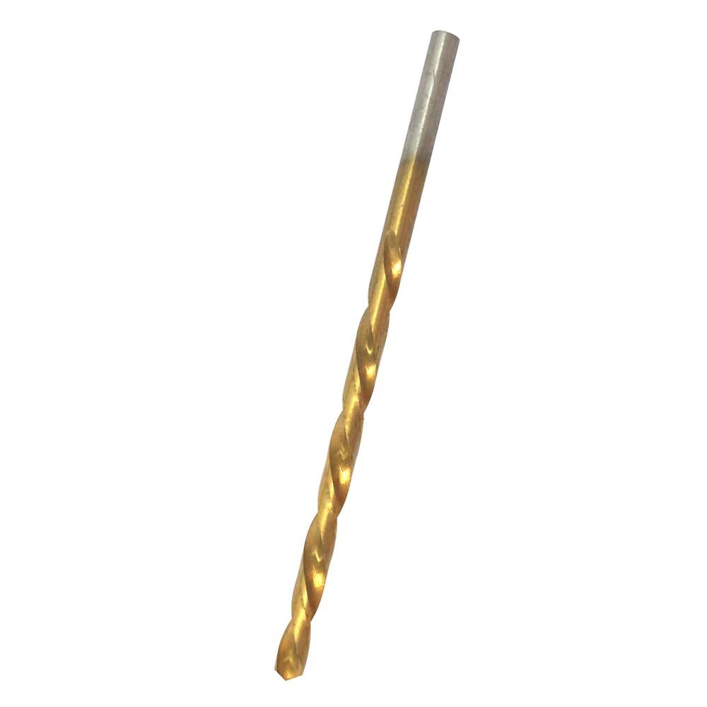 Broca de titanio para hierro de 3/32 de pulgada de diámetro