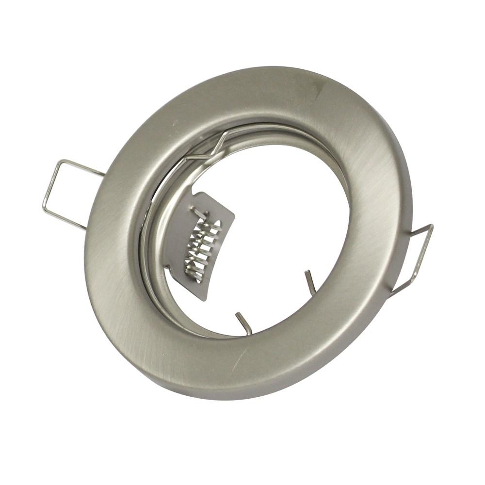 Lampara ojo de buey mr16 nickel ct2114r-20