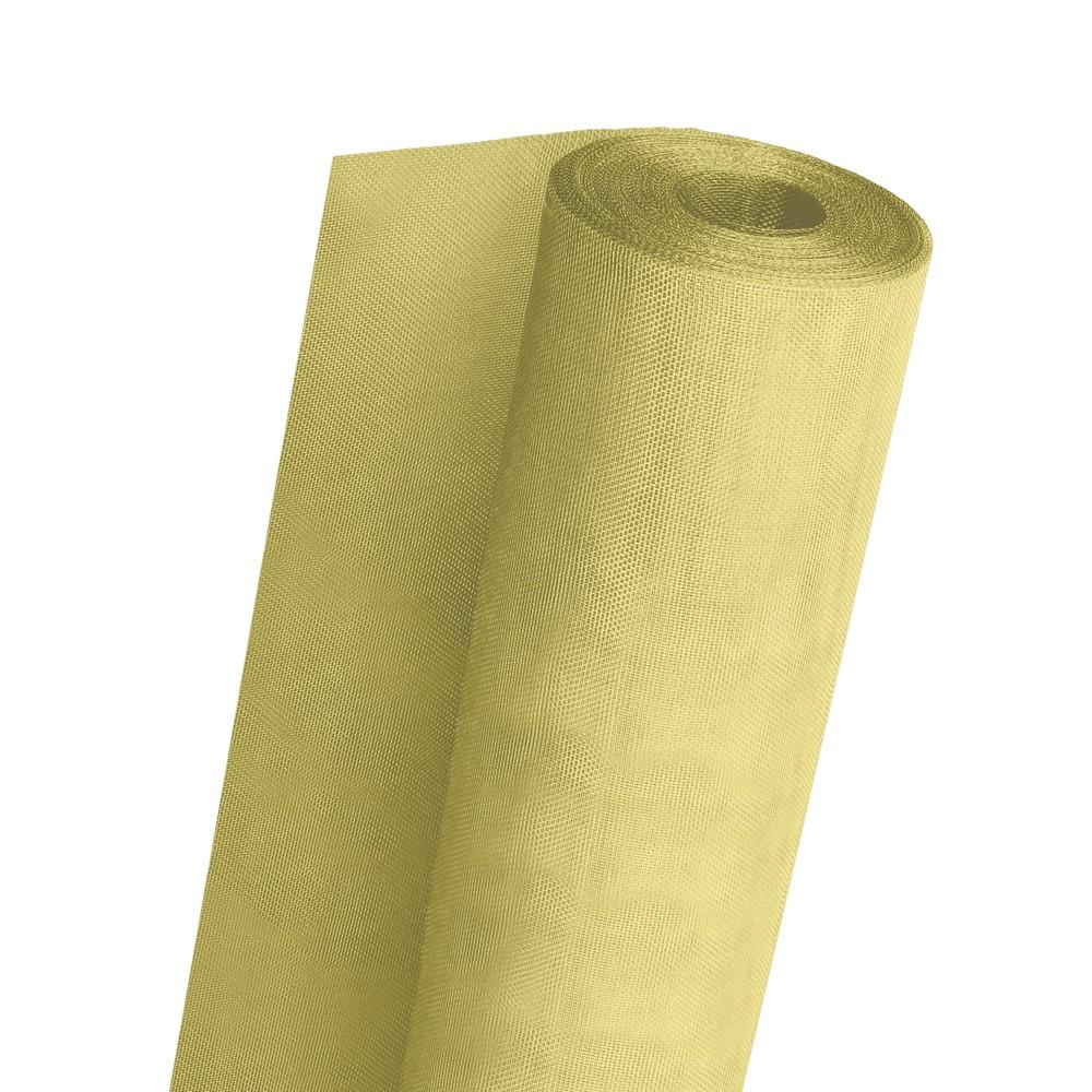Tela cedazo plastico amarillo 36