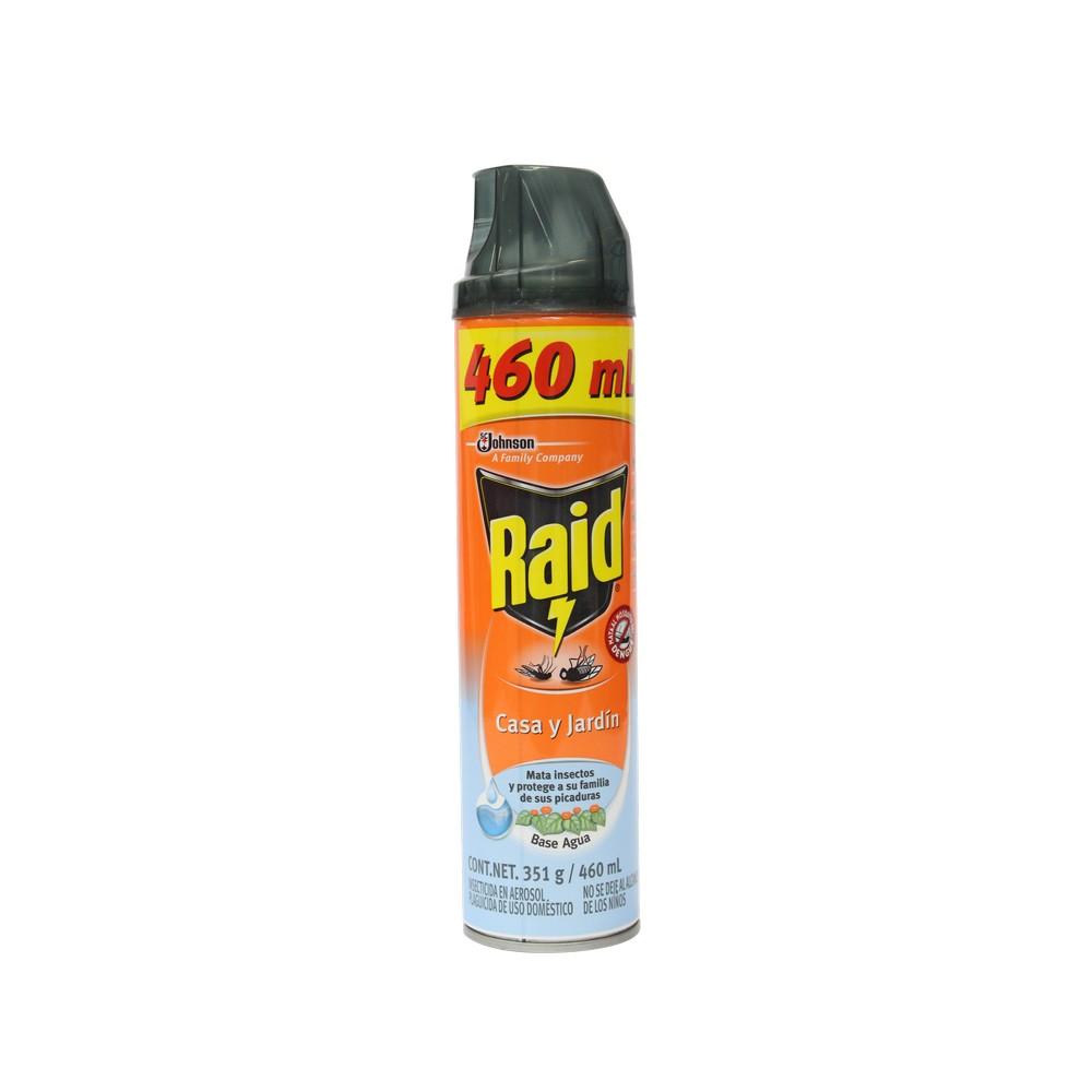 Raid casa y jardin en spray insecticidas raid for Casa jardin insecticida