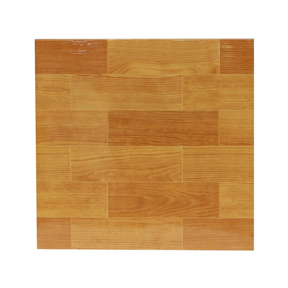 Cer mica de piso de 33x33 cent metros nogal claro - Como mantener brillante el piso de ceramica ...