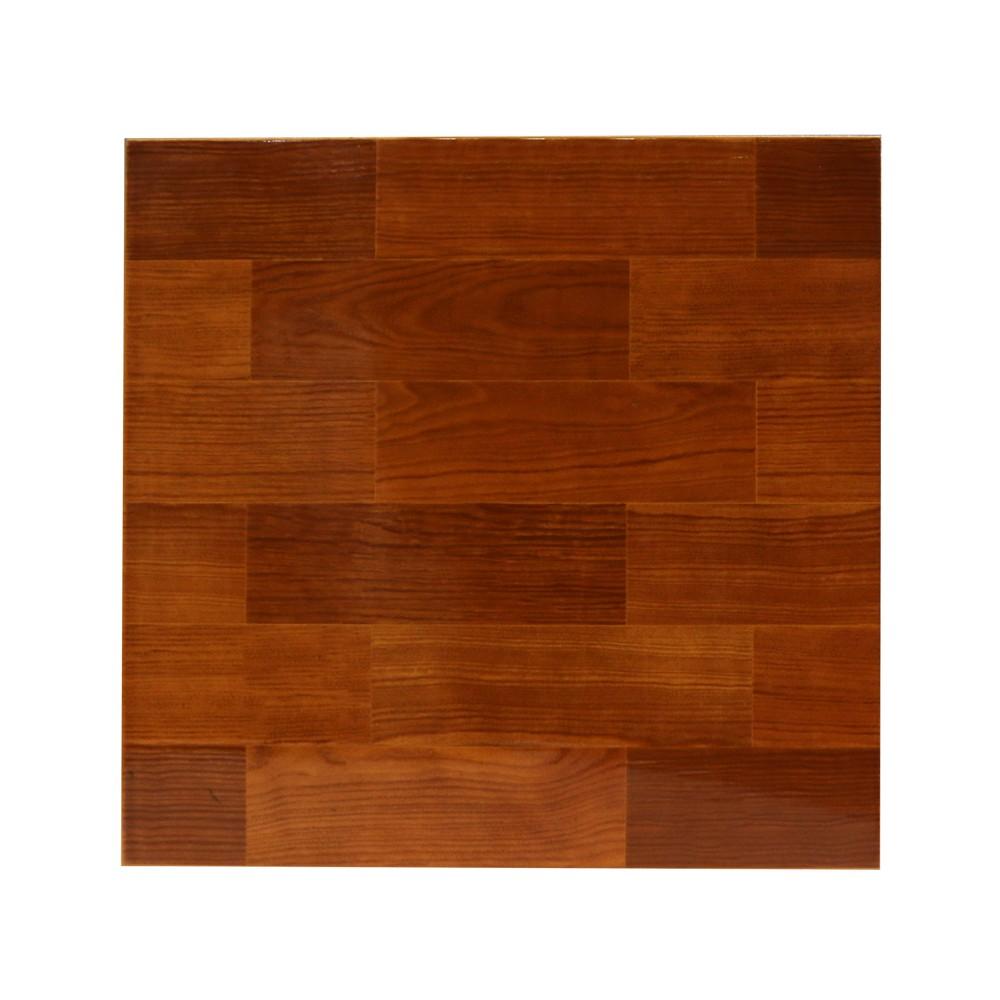 Cer mica de piso de 33x33 cent metros nogal oscuro for Pisos vitropisos azulejos