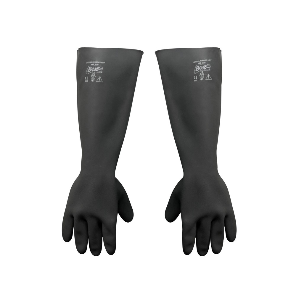 Guantes industrial liso 18/10