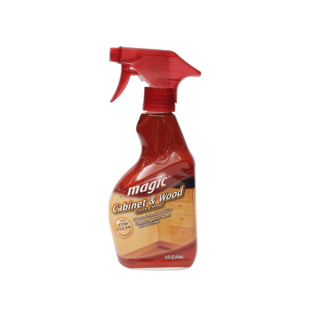Limpiador para madera magic en spray 14 oz