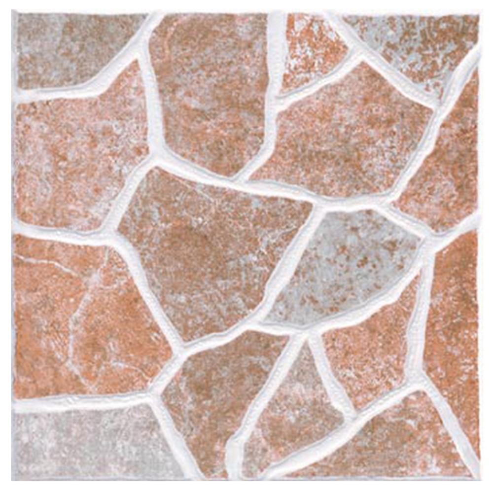 Cer mica de piso de 33x33 cent metros toledo marr n for Ceramicas para pisos exteriores precios