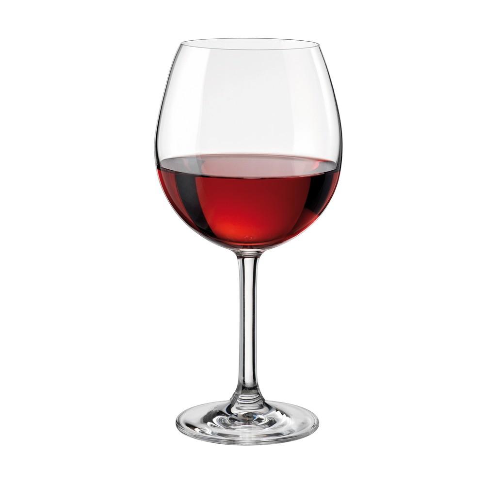 copa de vidrio para vino tinto de 25 onzas copas